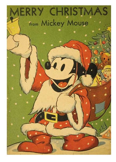 mothic flights and flutterings mickey mouse as santa 1939