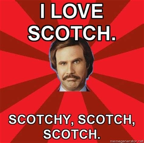 Ron Burgundy Scotch Meme - 129 best my future ex husbands will and ron burgundy images on pinterest