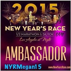 run megan run. : New Year's Race Los Angeles