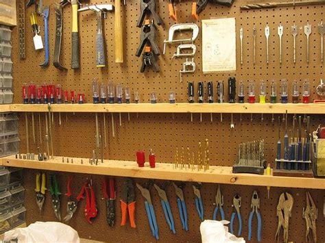 Garage Organization Pegboard by Pegboard Storage Ideas Storage And Tool Storage
