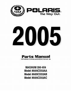 2005 Polaris Magnum 330 4x4 Parts Manual - Pdf Download