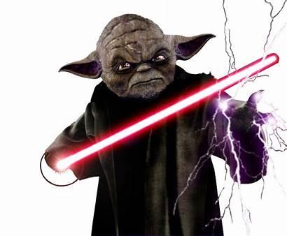 Yoda Darth Dark Side Deviantart Wars Star