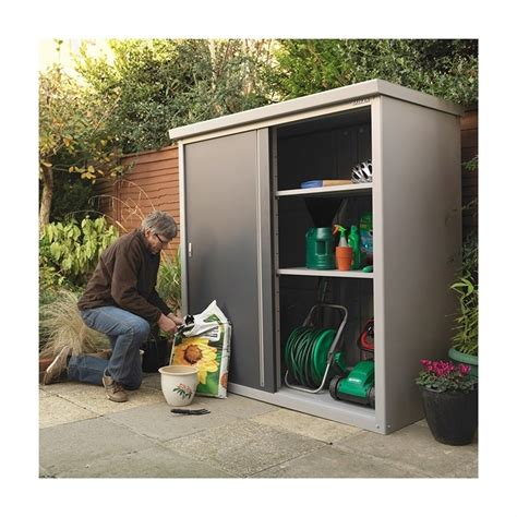Metal Garden Storage Cabinet by Mcl Direct For Best Pricing On Trimetals