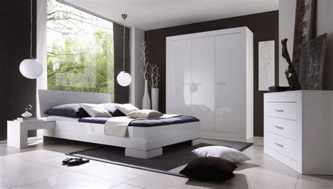 chambre blanche moderne chambre blanche design chambre
