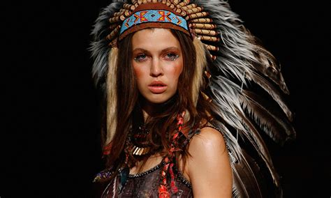 fashion music should also stop its native american