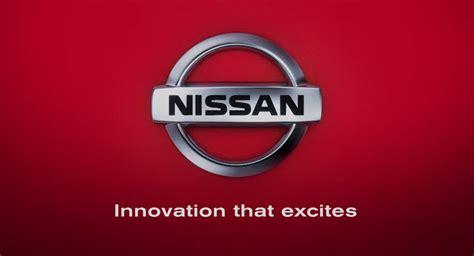 Nissan Innovation That Excites Logo Car Interior Design