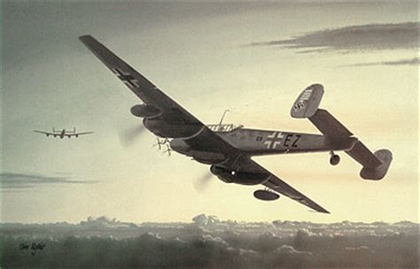 aviation art wyllie iain night ghost st trond