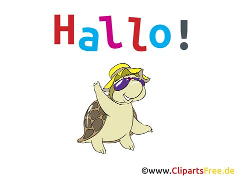 Halo Clip Hallo Clipart Bild Grafik Karte