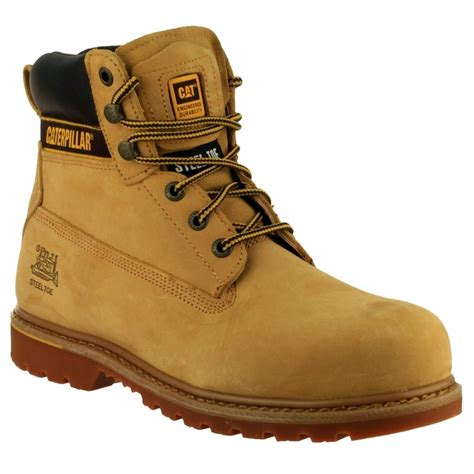 safety shoes for sepatu caterpillar holtonhn caterpillar holton safety boots honey