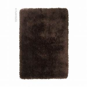 tapis shaggy tufte main chocolat pearl flair rugs 120x170 With tapis shaggy chocolat