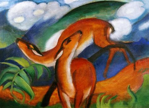meadowtree journal franz marc