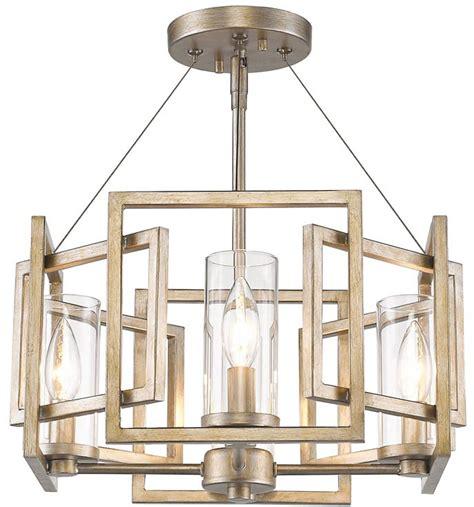 golden lighting 6068 sf wg marco modern white gold semi