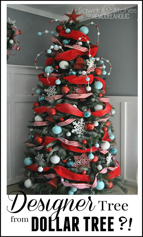fable tree decor kit wondershop remodelaholic how to decorate a tree a designer look from the dollar store