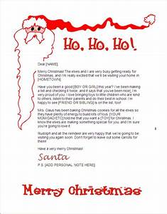 free letters from santa claus kids santa letter santa With how to get a letter from santa claus