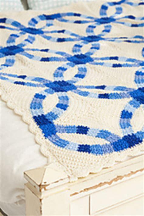 ravelry wedding rings blanket pattern  katherine eng