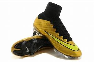 Girls Nike Mercurial Superfly FG Gold Black Green $108.99 ...