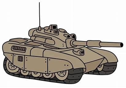 Tank Cartoon Funny Divertente Heavy Della Pesante