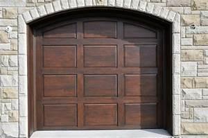 porte de garage en bois menuiserie de l39estrie With porte de garage et porte classique intérieur