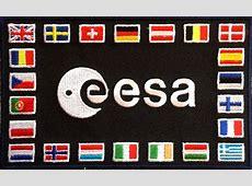 European Space Agency ESA shoulder patch collectSPACE