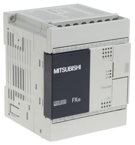 fx3s 20mr es mitsubishi fx3s plc cpu relay transistor output ethernet modbus networking