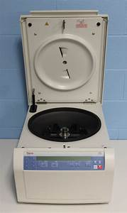 Refurbished Thermo Scientific Sorvall St16 Benchtop Centrifuge Cat  75004241