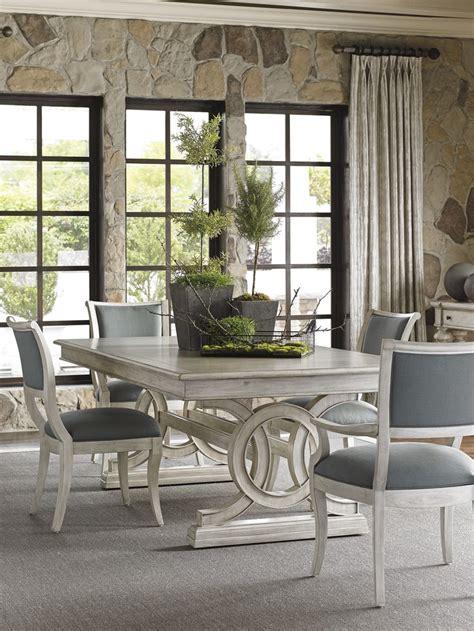 oyster bay montauk rectangular dining table  slate