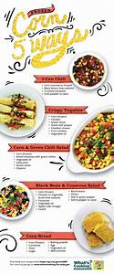 Infographic  Corn 5 Ways