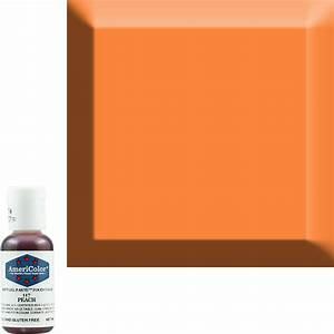Americolor Chart Peach Americolor Soft Gel Paste Food Color Acr 117