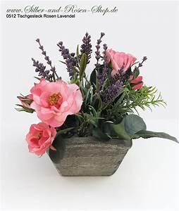 Rosen Und Lavendel : seidenblumen tischgesteck rosen und lavendel online bestellen ~ Yasmunasinghe.com Haus und Dekorationen