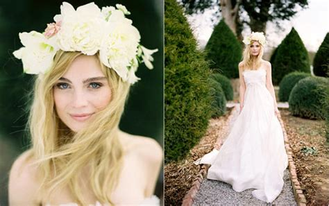 Beautiful And Boho Bridal Flower Crowns