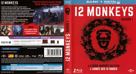 jaquette dvd de 12 monkeys saison 1 cin 233 ma