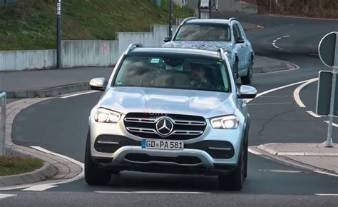 mercedes gle plug  hybrid spy pictures  video
