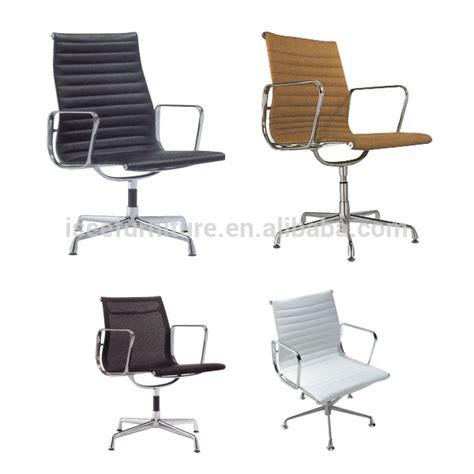 aeron designer aluminum swivel office chair no wheels