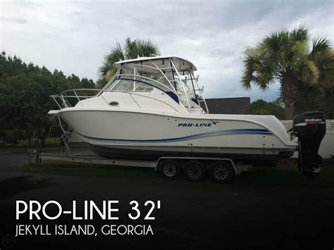 Xpress Boat Dealers In Georgia by For Sale Used 2005 Pro Line 3250 Express In Jekyll Island