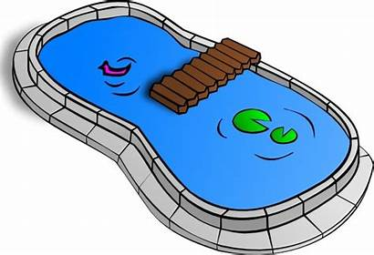 Pond Clip Pool Clipart Vector Svg Water
