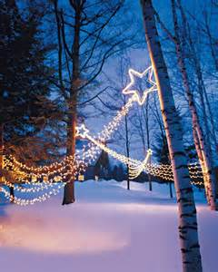 outdoor lighting shooting stars martha stewart