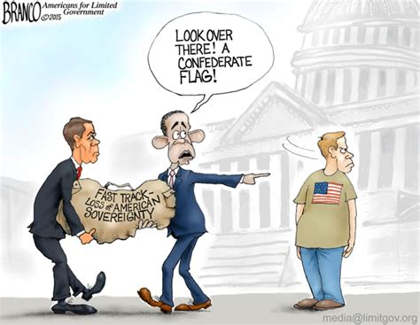 A.f. Branco Political Cartoon