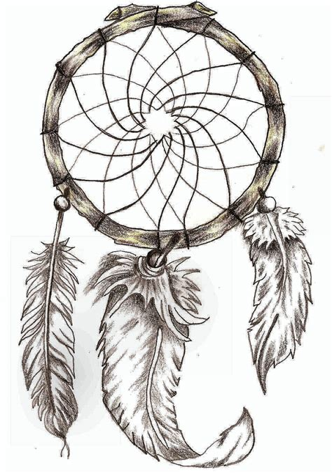 Dreamcatcher Template by Catcher Outline Pictures To Pin On Pinsdaddy