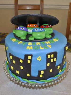 teenage mutant ninja turtle cake ideas