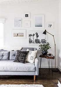 99 Beautiful White and Grey Living Room Interior ...