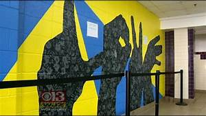 Perry Hall High Students Receive Gift Of Love Mural CBS