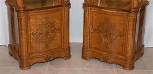 paire de meubles d39appui epoque charles x xixe siecle With meubles charles x