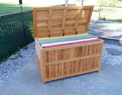 Outdoor Teak Storage Box Model Teak Furnitures Very