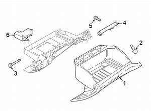 2016 Ford Focus Glove Box Door Hinge Pin  W  Rs  Assy