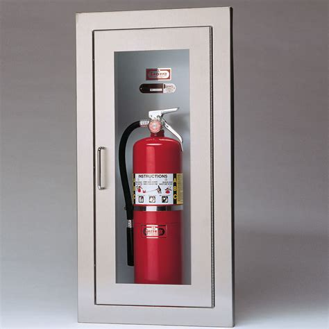 recessed extinguisher cabinet detail object moved