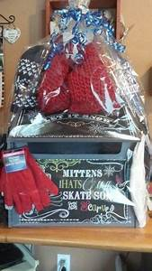 Raffle Box Ideas Let It Snow Wooden Hat Glove And Scarf Box Raffle Idea