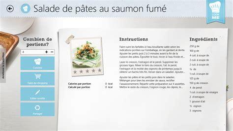 m6 recette de cuisine applis de cuisine les agrégateurs de recettes pour tablettes