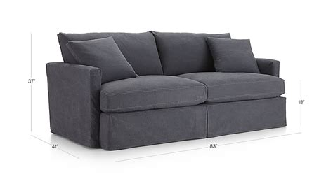 crate and barrel lowe chair slipcover lounge ii denim sofa crate and barrel