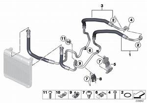 Bmw 650i Bracket  Oil Cooler Line  Alpina  Cooling