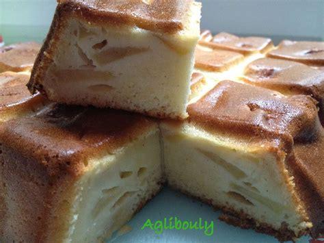 recette g 226 teau aux pommes et lait concentr 233 sucr 233 aglibouly